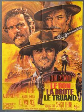 The Good, The Bad and the Ugly -  French Grande Film Poster